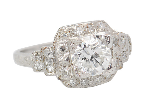 Stairway to Paradise - Diamond Platinum Ring