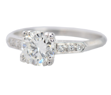 Embraceable - Vintage Diamond Engagement Ring