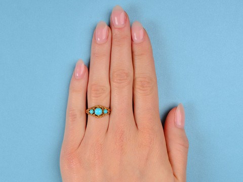 Spiral Sea - Turquoise Ring of 1934