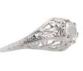 Vintage Rose Cut Diamond Engagement Ring