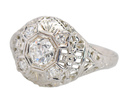 Filigree Fine - Vintage Diamond Ring