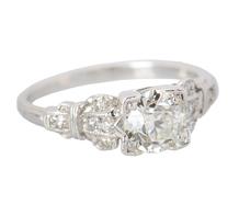 Ode to Romance - Vintage Diamond Engagement Ring