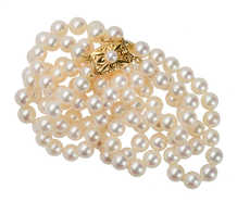 Mikimoto Double Strand of Cultured Pearls