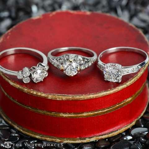 Eterne - Vintage Diamond Engagement Ring