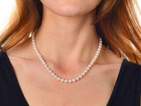 Pearl Perfection - Vintage Fine Strand of Pearls