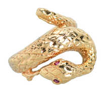 SSSSay Yessss....Vintage Snake Ring of Gold