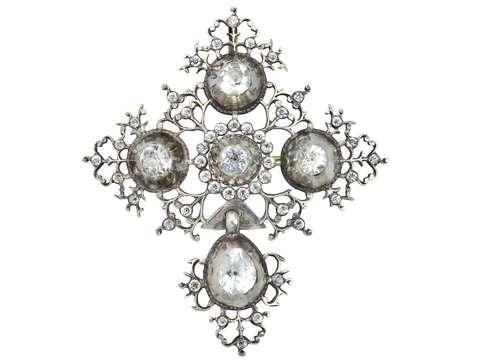 Antique Georgian French Croix de St. Lô