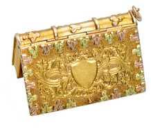 The Book of Life - Georgian Locket Pendant in Gold