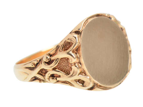 Allsopp Brothers Signet Ring in Gold