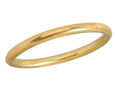 Simply Irresistible - 18k Gold Bangle Bracelet