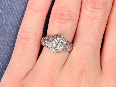 Anticipation - Diamond Engagement Ring