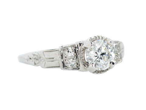 Dream a Dream - Vintage Diamond Engagement Ring