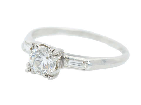 Promise Me - Vintage Diamond Engagement Ring