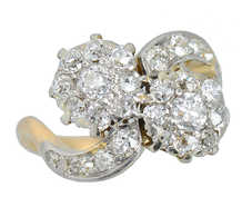 Antique Flower Themed Diamond Ring