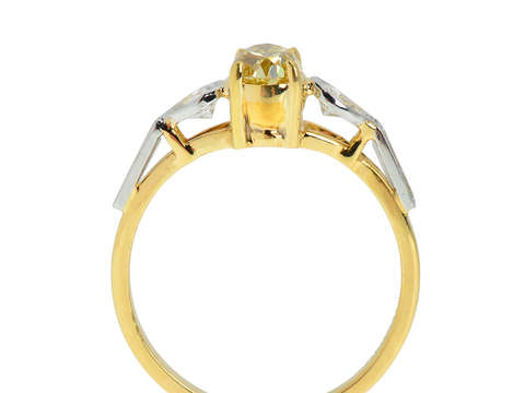 Intensity - Fancy Intense Yellow Diamond Engagement Ring