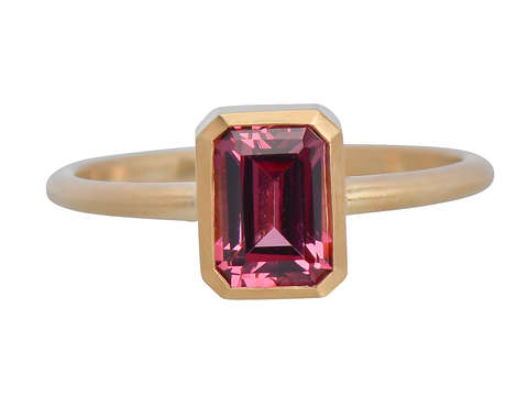 Pink Serenade - Umbalite Garnet Ring