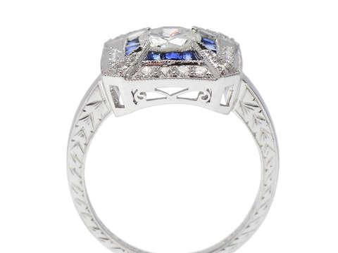 Starlight - Diamond Sapphire Ring