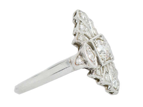 Art Deco Inspired Diamond Ring