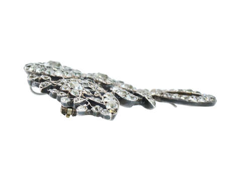 18th Century Glory - Paste Pendant Brooch