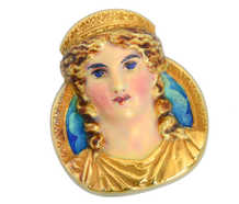 Gods & Goddesses - Dated 1908 Mardi Gras Comus Brooch