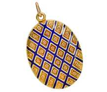 Pattern Play - English Victorian Gold Locket