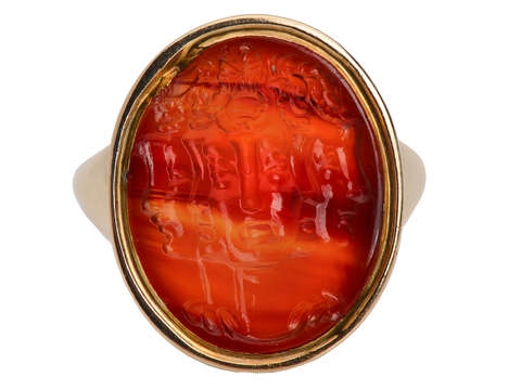 Rarest of the Rare - Georgian Gryllus Intaglio Ring