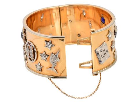 Begin Anew - Retro Bangle Bracelet