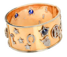 Begin Anew - Retro Bangle Bracelet