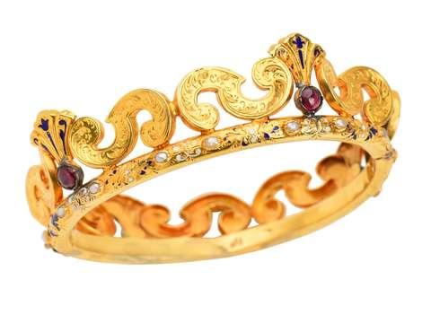Crown Jewels - Victorian Bracelet in Box