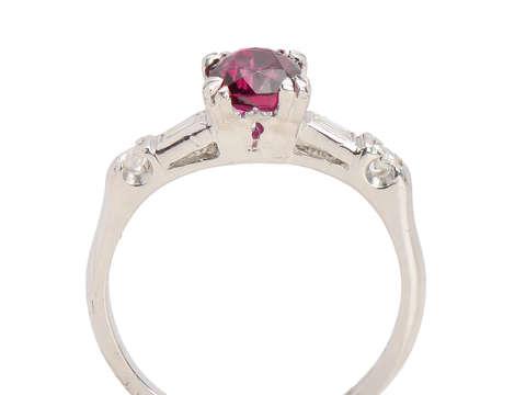 Rubicund Classic - Vintage Diamond Ring