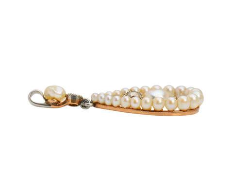 Antique Edwardian Natural Pearl Pendant