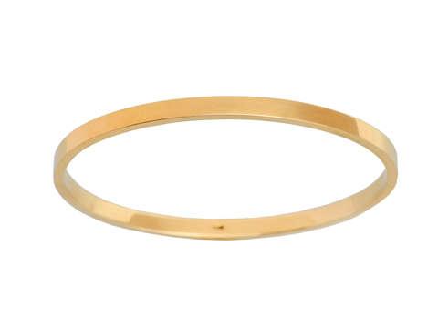 Sloan & Co. Oval Gold Bangle