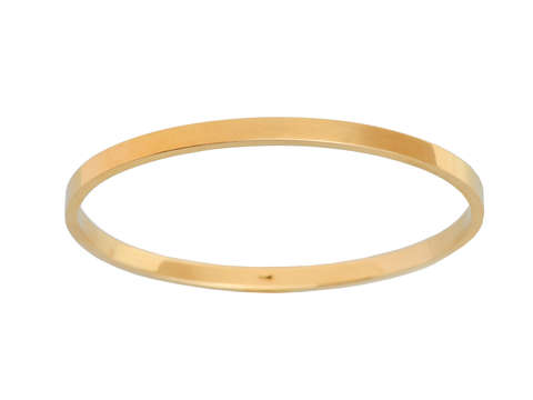 Sloan & Co. Oval Gold Antique Bangle