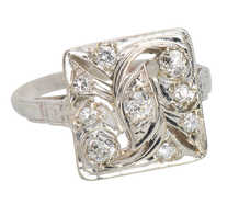 Uniquely You - Vintage Diamond Ring