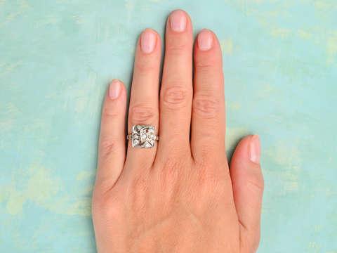 Uniquely You - Vintage Diamond Ring