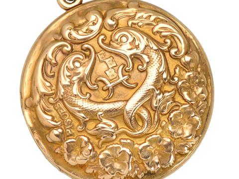 Sloan & Co. Zodiac Pisces Locket