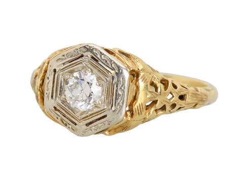 Vintage Engagement Ring from the 1930s