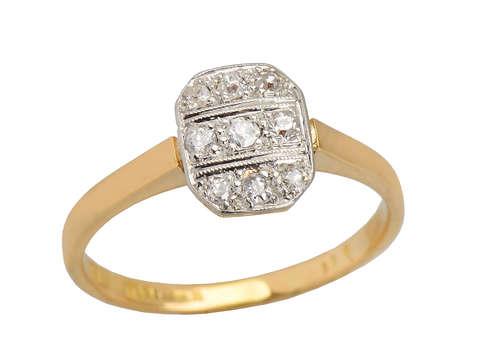 Turn of the Century Charm - Antique Diamond Ring