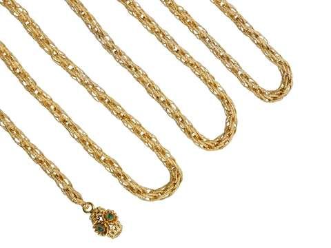 History's Style - Long Georgian Pinchbeck Chain