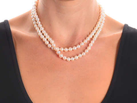 Radiance - Mikimoto 33 Inch 6.8 mm Pearls