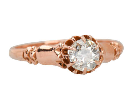 Victorian Old European Cut Solitaire Ring