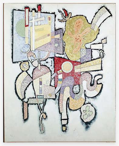Kandinsky Inspired Brooch by Max Pollinger