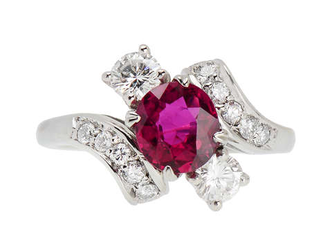 All the Angles - Fine Ruby Diamond Ring