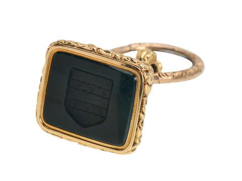 15k Gold Seal in Original Antique Box