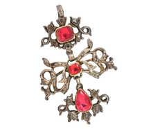 Mid 18th Century Pink Topaz Pendant