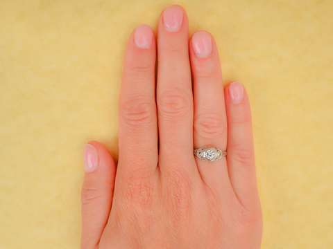 Evermore - Diamond Engagement Ring in 18k
