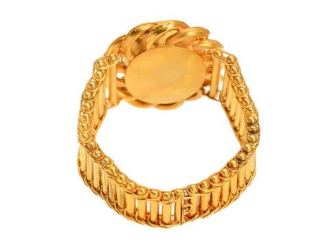 Impressive Antique Victorian Locket Bracelet in Box