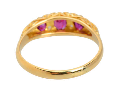 1908 - A Very Good Year for a Ruby Diamond Ring