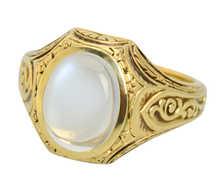 Allsopp Brothers Blue Moonstone Ring