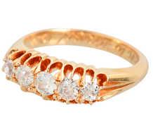 Wedding Day of 1912 - Diamond Eternity Ring